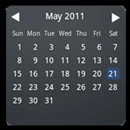 月历桌面部件:Month Calendar Widget