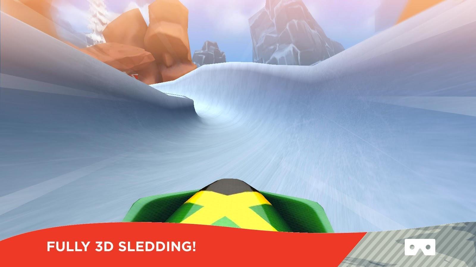 有舵雪橇VR图4